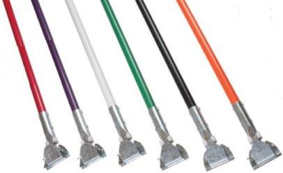 fiberglass mop handles, wet mop handles, quick change mop